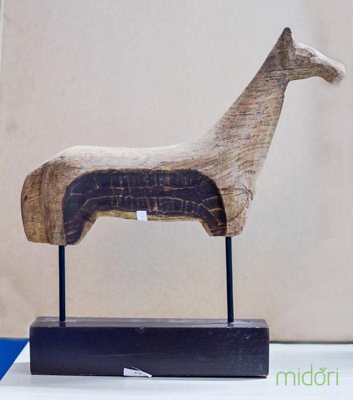 Tượng gỗ ngựa (TG 06)